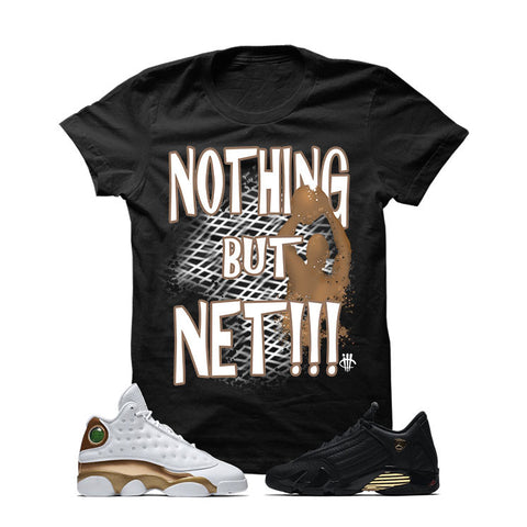 Jordan 13/14 Defining Moments Pack Black T Shirt (NOTHING BUT NET)