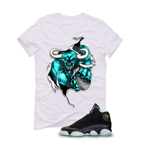 USA Foamposite One White T Shirt (My Time To Shine)