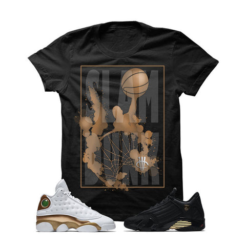 Jordan 13/14 Defining Moments Pack Black T Shirt (SLAM DUNK)