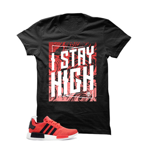 Adidas NMD R1 Red/Black Black T (Stay High)