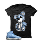Jordan 7 Pantone Black T Shirt (Teddy)
