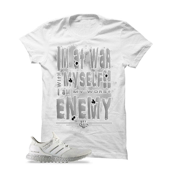 Adidas Ultra Boost 3.0 'Crystal White' Official Matching Shirts