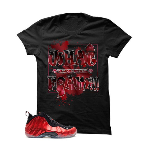 Nike Air Foamposite One Metallic Red Black T (What the Foam)