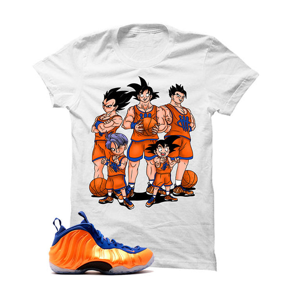 Foamposite One NY Knicks - Official Matching Shirts