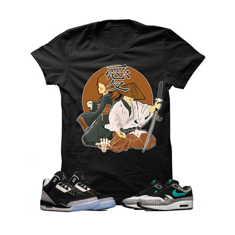 Atmos X Nike/Jordan Pack Black T Shirt (Love In Japan)