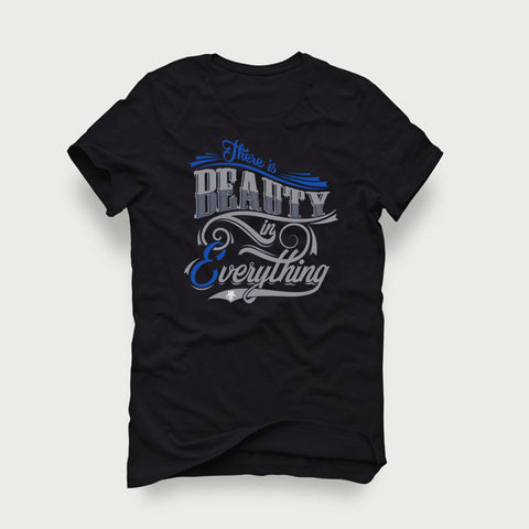 Jordan 4 Game Royal Black T Shirt (Beauty)