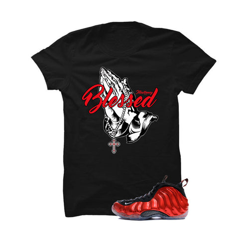 Nike Air Foamposite One Metallic Red Black T (Blessed)