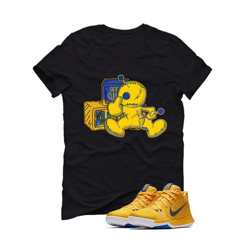 Nike Kyrie 3 Mac and Cheese Kids Black T (Fck u)