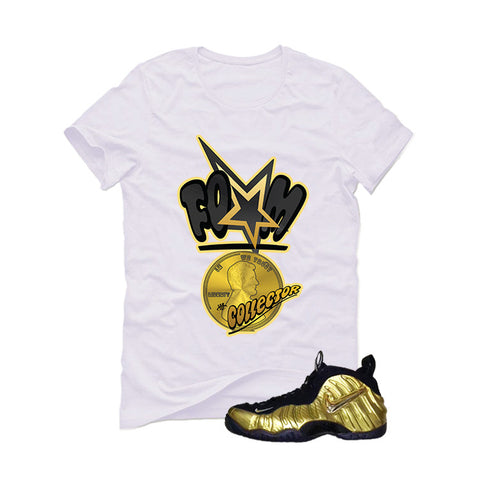 Nike Air Foamposite Pro Metallic Gold White T (Foam)