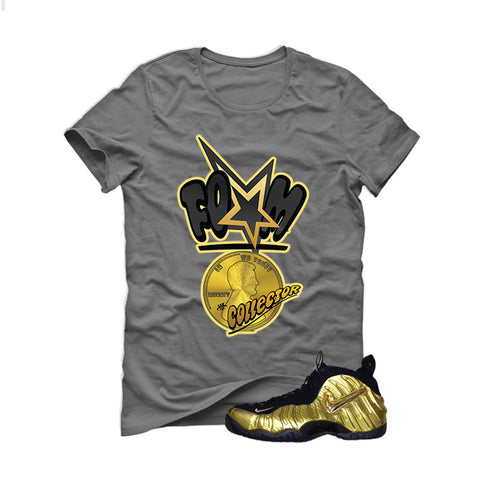 Nike Air Foamposite Pro Metallic Gold Grey T (Foam)
