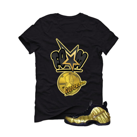 Nike Air Foamposite Pro Metallic Gold Black T (Foam)
