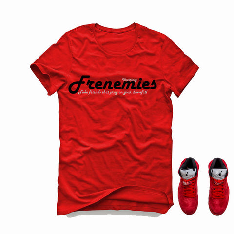 Air Jordan 5 University Red Red T (Frenemies)