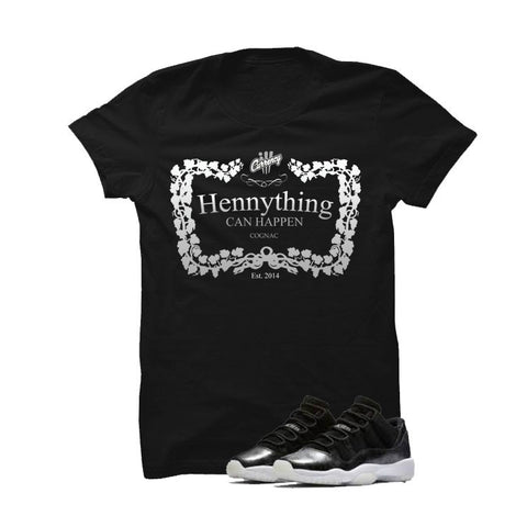 Wu-Tang Foamposite One Black T Shirt (Hands Can't Touch)