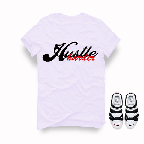 "Timberland 6"" Boots White T Shirt (Stay Humble Hustle Hard)"