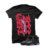 Jordan 6 Gs Hyper Pink Black T Shirt (Can Not Stop Now) - illCurrency Matching T-shirts For Sneakers and Sneaker Release Date News