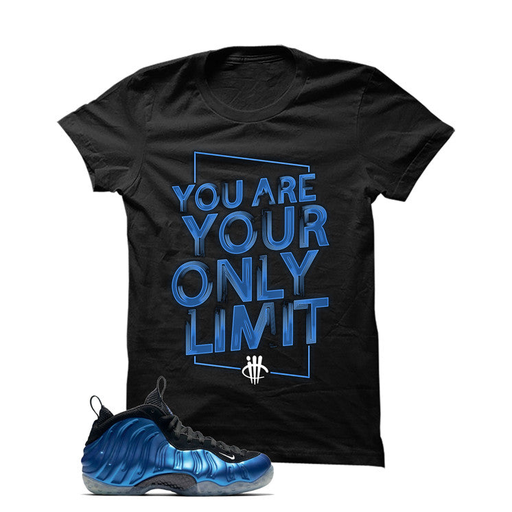 Foamposite One Og Royal Black T Shirt (Limit) - illCurrency Matching T-shirts For Sneakers and Sneaker Release Date News
