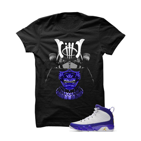 Jordan 9 Lakers White T Shirt (Joker Cards)