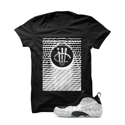 Foamposite Pro Silver Surfer Black T Shirt (illc Smoke)