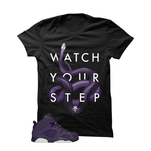 Jordan 6 Dark Purple - Official Matching Shirts