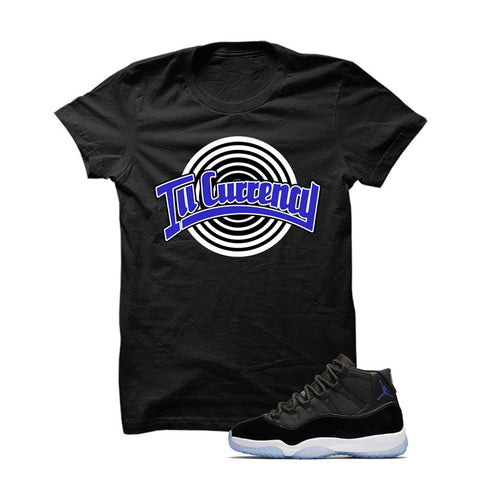 Jordan 11 Space Jam Black T Shirt (Tune Squad)