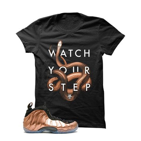 Foamposite One Copper Black T Shirt (Watch)