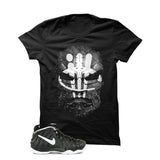 Foamposite Pro Dr. Doom Black T Shirt (Dr. Doom) - illCurrency Matching T-shirts For Sneakers and Sneaker Release Date News