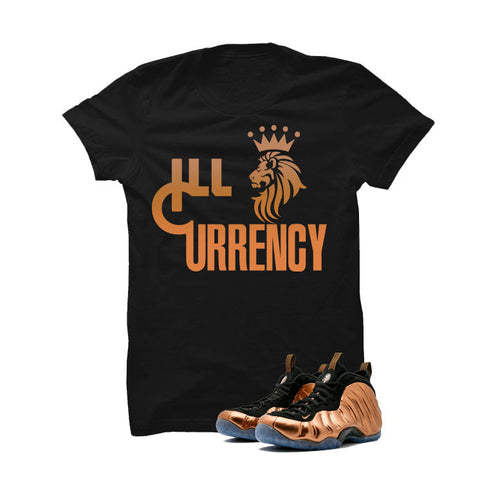 Foamposite One Copper Black T Shirt (Ill Lion)