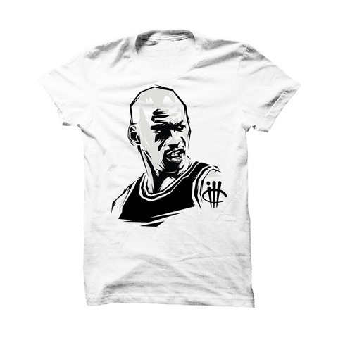 Foamposite Pro Silver Surfer Black T Shirt (ill basketball dude)