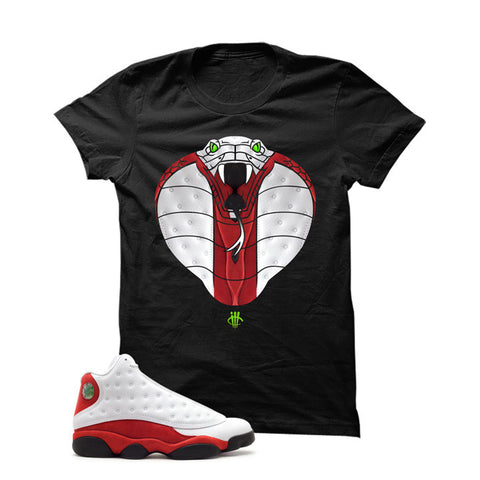 Jordan 13 Chicago White T Shirt (Zombies)
