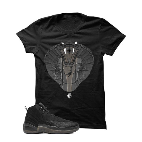 Jordan 12 Ovo Black T Shirt (Cobra)
