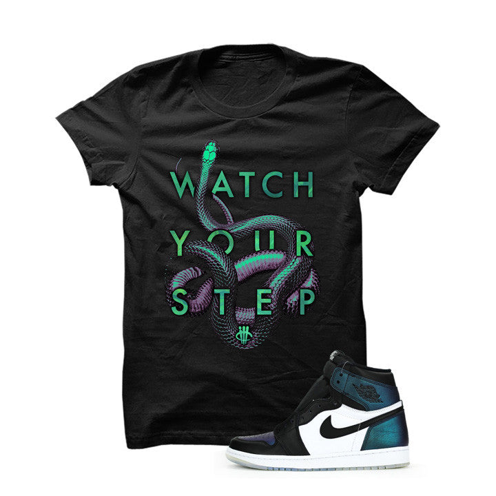 Jordan 1 All-Star Black T Shirt (Snakes)