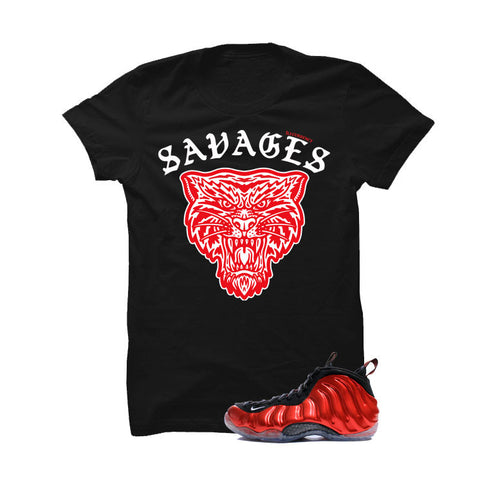 Nike Air Foamposite One Metallic Red Black T (Illcurrency savages)