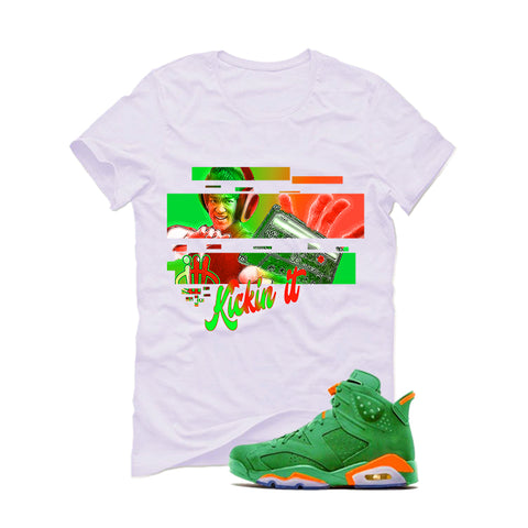 Jordan 2 Wing It White T Shirt (Lucky Vador)
