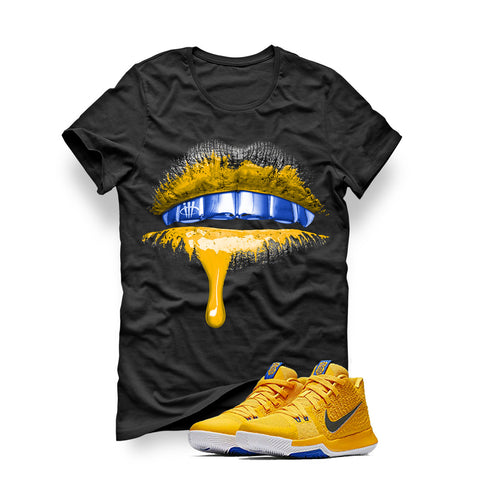 Nike Kyrie 3 Mac and Cheese Kids Black T (Lips)