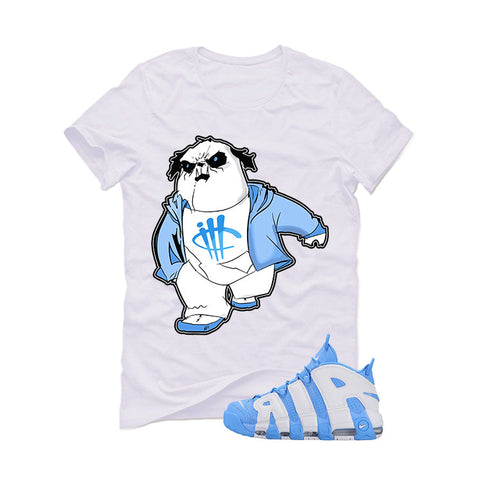 Nike Air More Uptempo UNC White T (PandaBoy)