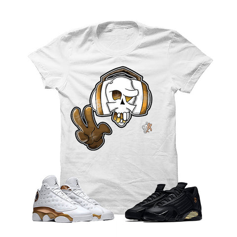 Jordan 13/14 Defining Moments Pack White T Shirt (Peacetunes)