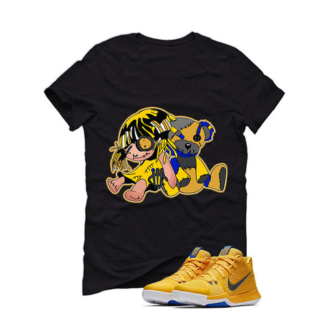 Nike Kyrie 3 Mac and Cheese Kids Black T (Ragtoys)