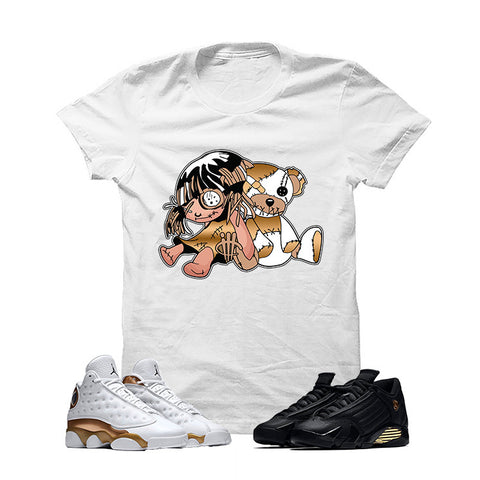 Jordan 13/14 Defining Moments Pack White T Shirt (Rag Toys)