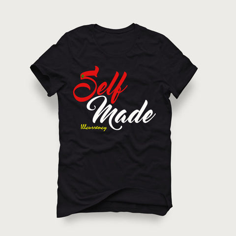 Skull Dimensions Blk/Red White Tee