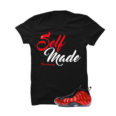 Nike Air Foamposite One Metallic Red Black T (Self Made)