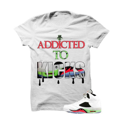 Addicted To Kicks 11lab4 Black T Shirt