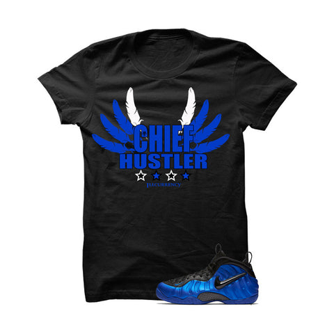 Ben Gordon Nike Air Foamposite Pro Black T Shirt (Hustle By Any Means)
