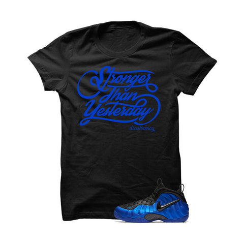 Ben Gordon Nike Air Foamposite Pro Black T Shirt (Never Give Up)
