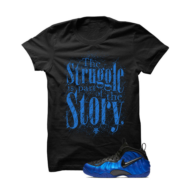 Ben Gordon Nike Air Foamposite Pro Black T Shirt (Struggle) - illCurrency Matching T-shirts For Sneakers and Sneaker Release Date News