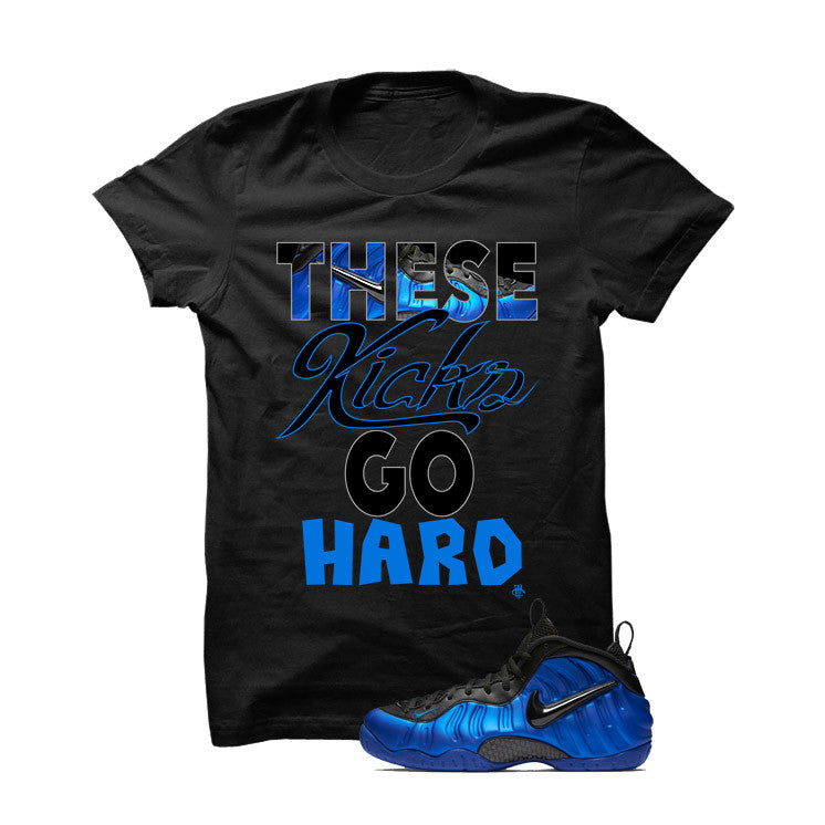 Ben Gordon Nike Air Foamposite Pro Black T Shirt (These Kicks Go Hard) - illCurrency Matching T-shirts For Sneakers and Sneaker Release Date News