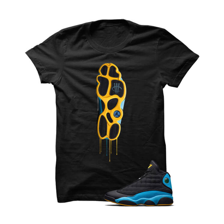 Bottom Shoe CP3 Away Black T Shirt - illCurrency Matching T-shirts For Sneakers, Jordan's and foamposites