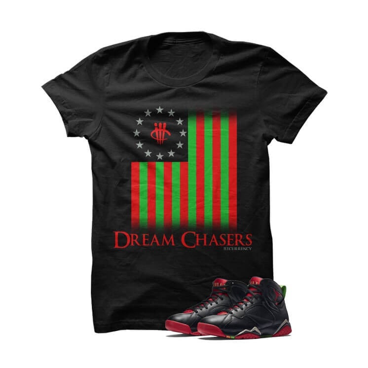 Dreamchaser Marvin The Martian 2 Black T Shirt - illCurrency Matching T-shirts For Sneakers, Jordan's and foamposites