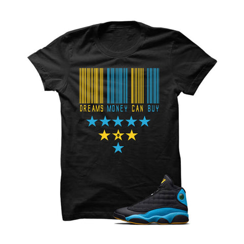 Jordan 12 French Blue White T Shirt (Dreams Money Can Buy)
