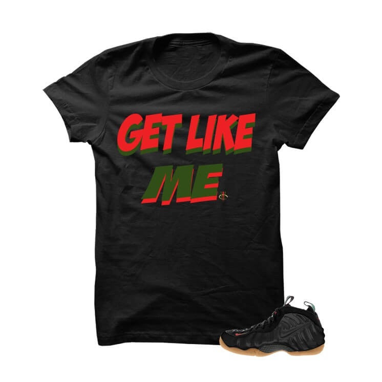 Get Like Me Gucci Foams Black T Shirt - illCurrency Matching T-shirts For Sneakers, Jordan's and foamposites