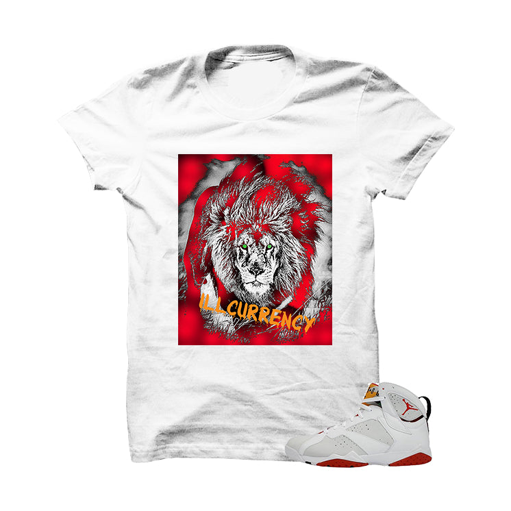 Heart Of The Beast Hare 7s White T Shirt - illCurrency Matching T-shirts For Sneakers, Jordan's and foamposites